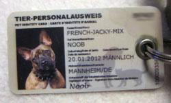 Hundemarke TierPerso Vorderseite